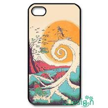 Fit for Samsung Galaxy mini S3/4/5/6/7 edge plus+ Note2/3/4/5 back skins cellphone case cover Nightmare Surfing Christmas
