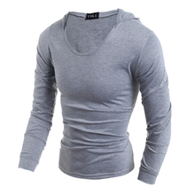 Men Thin Pullover Hoodie Sweatshirt Long Sleeve Cotton outdoors sport Male hooded Sweat Shirt Bodybuilding Gym hoody moletom
