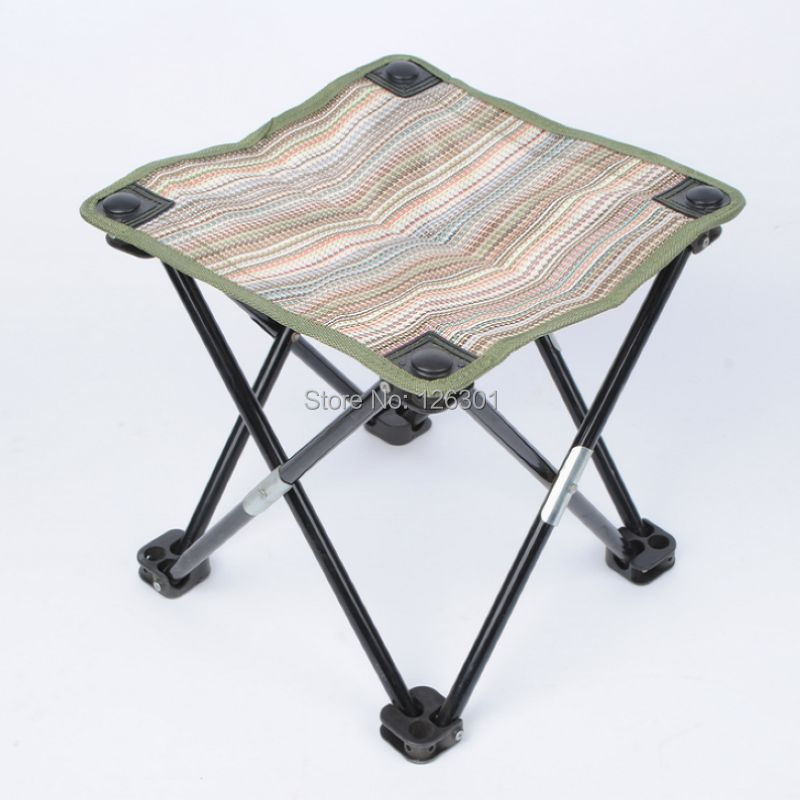 Portable Fishing Chair Campstool Mini Folding Stool Fishing Tackle in Fishing
