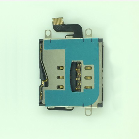 5pcs/lot Sim Card Holder Reader Flex Cable Replacement Part For iPad 3 4 WiFi/3G free shipping(China (Mainland))