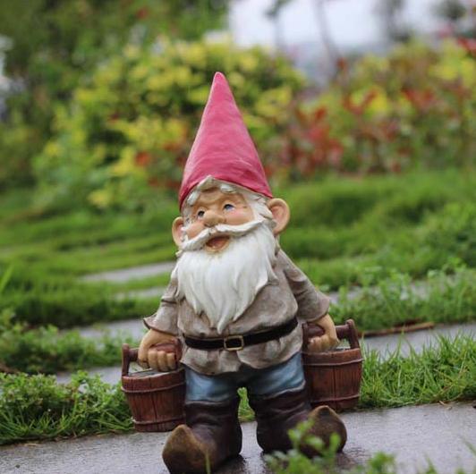 roubo de anao de jardim : roubo de anao de jardim:Gnome Garden Statue