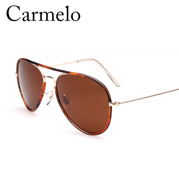 Ultrathin Metal Legs Carmelo CM#3025 New Style Colorful Polarized Sunglasses For Men And Women With the Most Beautiful Attitude(China (Mainland))