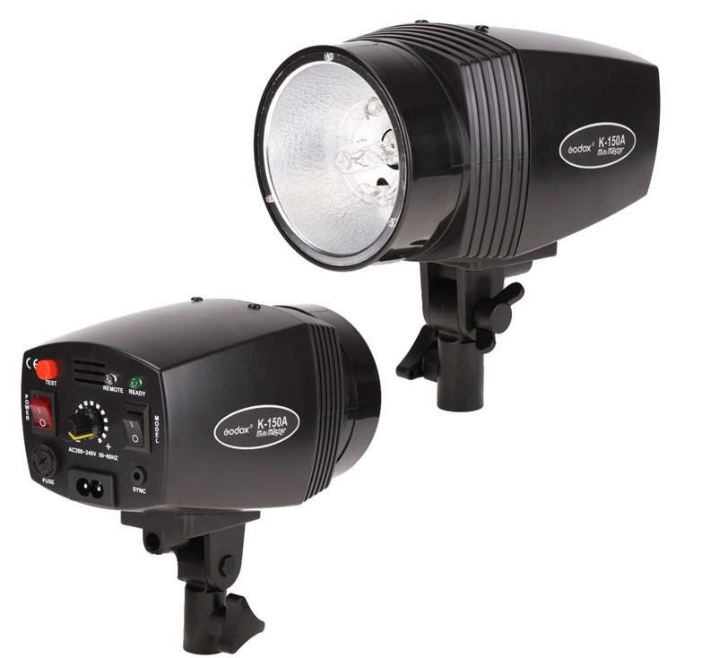 GODOX K-150A Mini Master studio flash light K-150A 150WS Small Studio Photography Free Shipping(China (Mainland))
