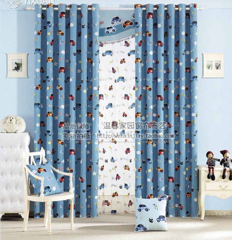 Boys Bedroom Curtains A Shared Boysu0027 Bedroom Blue Boys – Curtains for Boys Bedroom