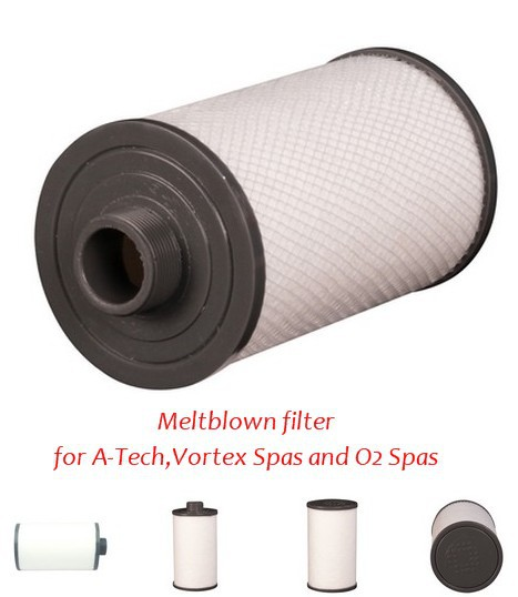 "spa filter 203 X 125 for all Vortex Spas and O2 Spas Purezone 400 Meltblown Cartridge Pool Spa Filter 8"" x 5""(China (Mainland))"