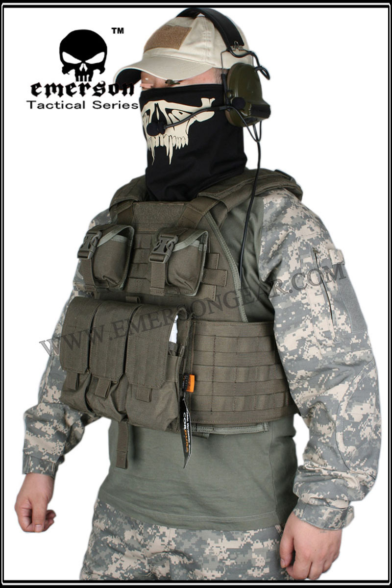 Emerson SPC Tactical vest Airsoft Painball Military Army ...
