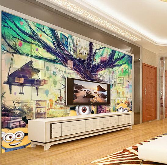 Buy custom any size 3d wall mural for Buy mural wallpaper