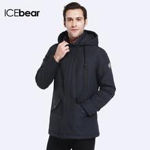 ICEbear 2017 Двойные Карманы Мужская Весна Пальто Моды для Мужчин Куртка Тонкий Пальто Высокого Качества для мужчин Куртка Slim 17MC023(China (Mainland))