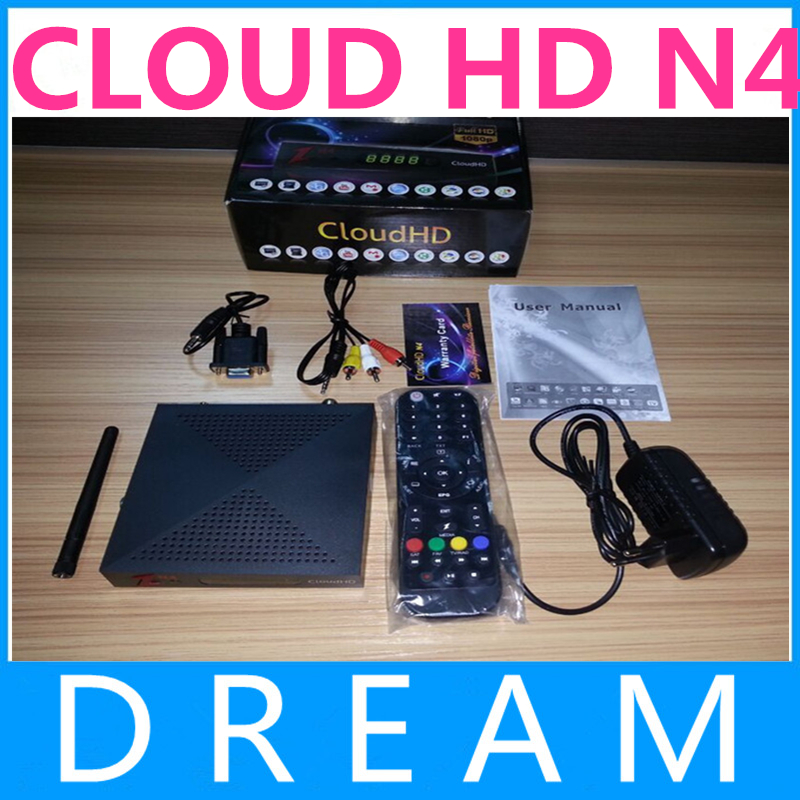 Hotsale NEWEST Cloud HD N4 DVB-S HD Satellite Receiver Support Newcam with No.1 IKS Good Quality free ship<br><br>Aliexpress