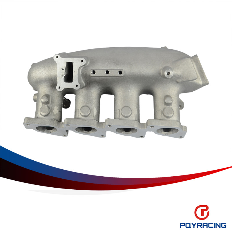 PQY SOTRE-INTAKE MANIFOLD For 89-94 NISSAN 240SX S13 SILVIA SR SR20DET SR20 TURBO INTAKE MANIFOLD CAST TURBO INTAKE MANIFOLD