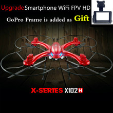Newest Version MJX X102h 2.4G Profissional Drones FPV helicopter RC Helicopter Upgrade MJX X101 Vs X8 X8C X8W X8G X8HW X8HG X6(China (Mainland))