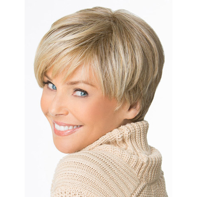Layered Pixie Wigs For Women Over 50 Short Hairstyle 2013