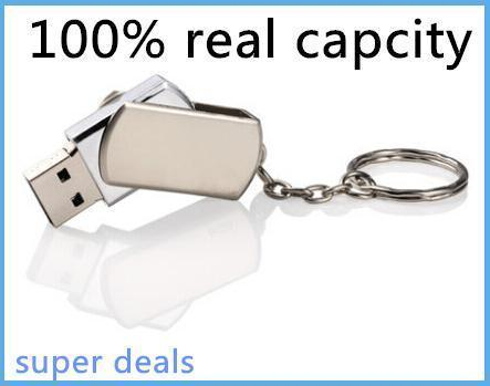 100% real capacity Metal USB Flash Drive 16gb 32gb Pen Drive Pendrive MINI TINY Memory Card Stick Drives MicroData Pendrive S110(China (Mainland))
