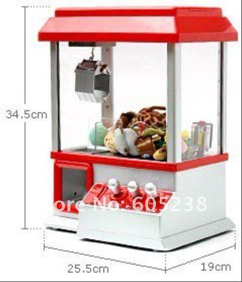 Free shipping Retro Carnival Arcade Style Candy Box Candy Grabber Machine Toy Grabber Machine(China (Mainland))