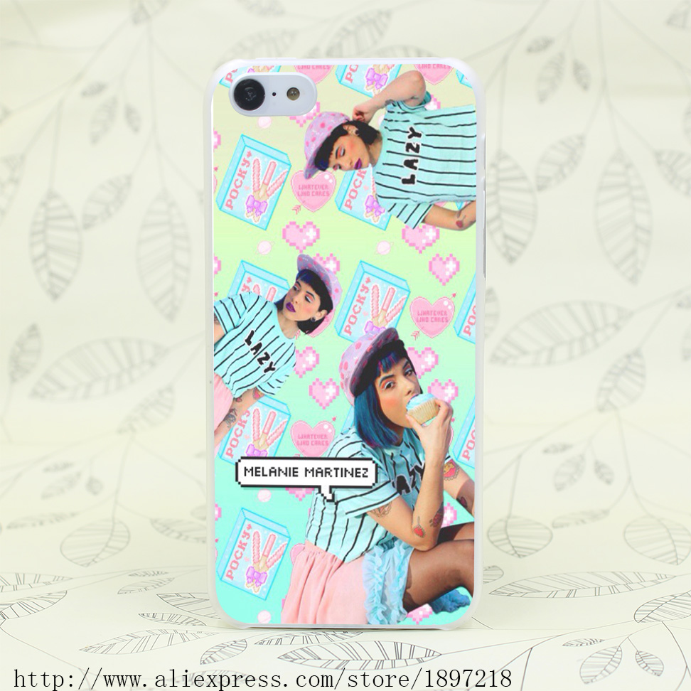 3255T Melanie Martinez Aesthetic Hard Transparent Cover Case for iphone 4 4s 5 5s 5C SE 6 6s Clear Cell Phone Cases(China (Mainland))