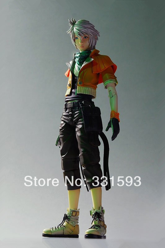 Free Shipping PlayArts KAI Final Fantasy XIII Hope Estheim PVC Action Figure Collection Toy 22CM FFFG004(China (Mainland))