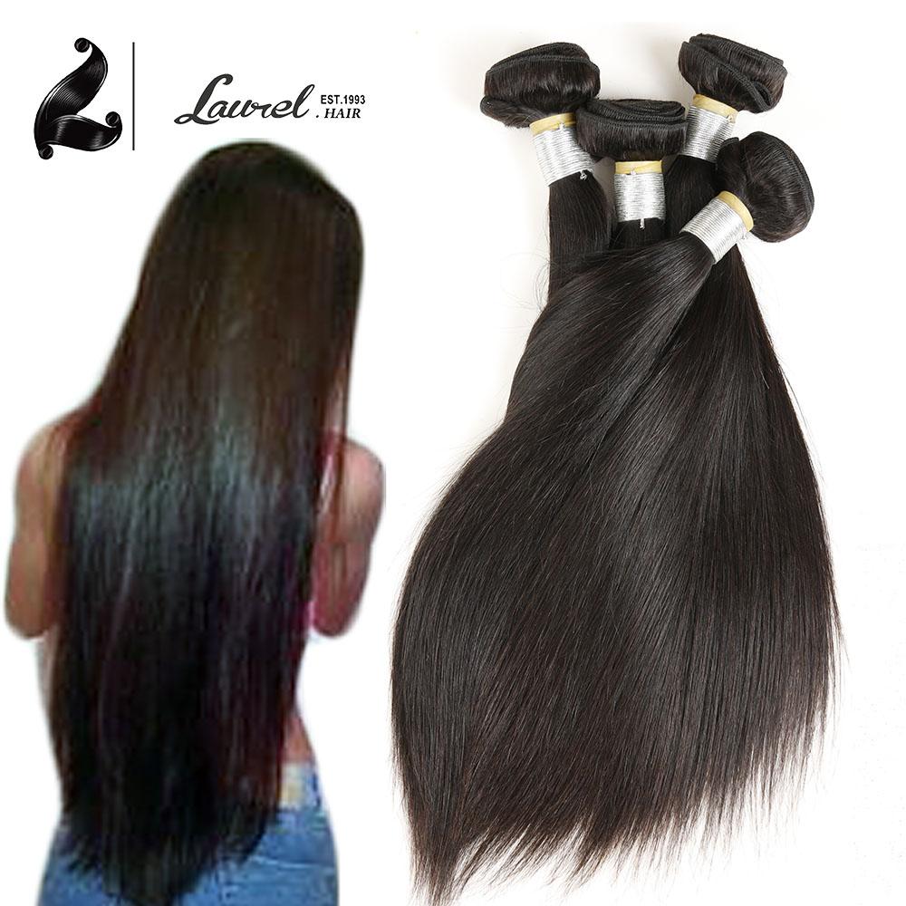 Здесь можно купить  Laurel Straight Virgin Hair 100%Human hair Weaving Malaysian Straight Hair Natural Hair Extensions Malaysian Hair Weave Bundles   Волосы и аксессуары