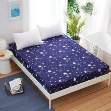 one piece printing Fitted sheet twin full queen king size,bed sheet/bedsheet mattress cover protective case bed linen bedding(China)