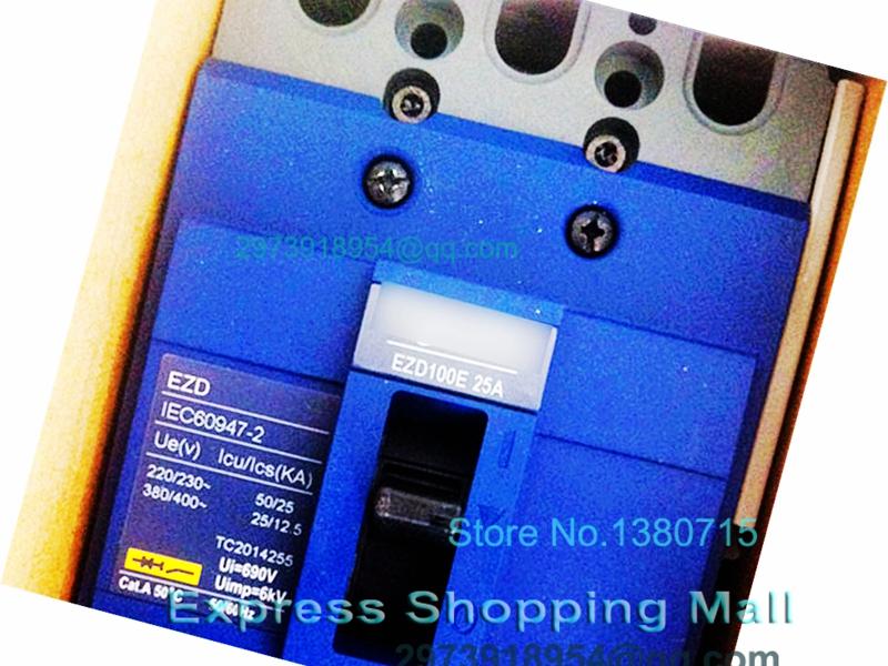 Фотография New EZD100E 3P 30A EZD100E3030N Plastic Breaker