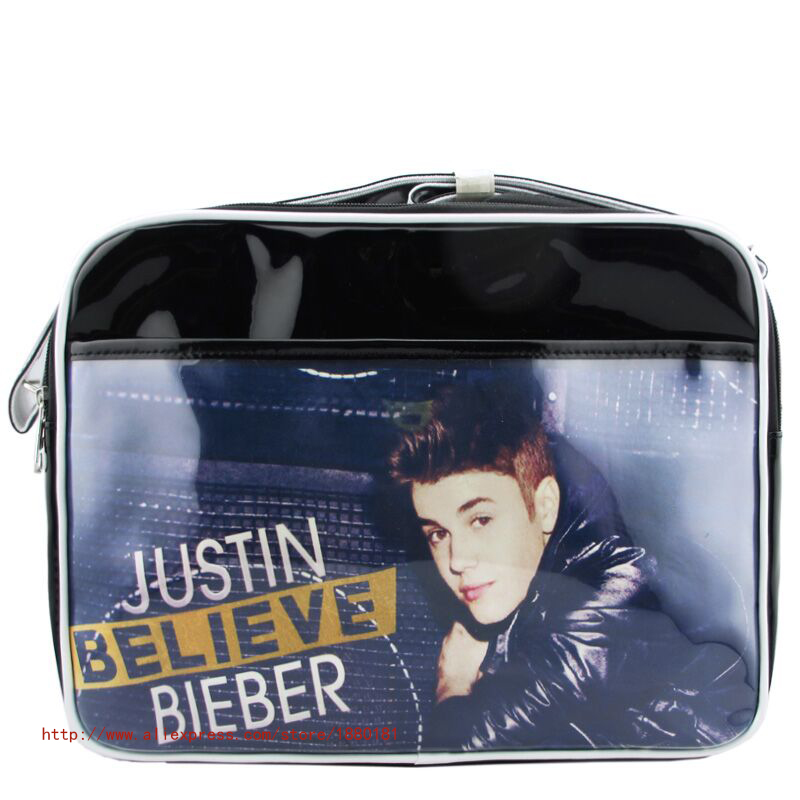 Only the shop sale single Shoulder bags famous musician Justin Bieber a fascinating women Package Street Style men(China (Mainland))