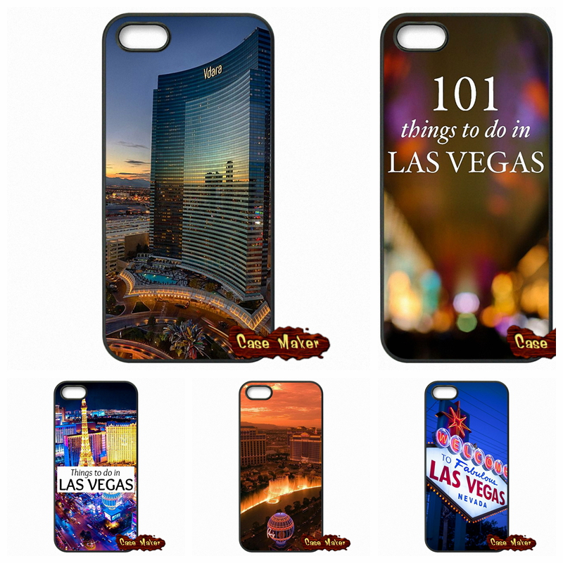 For Apple iPhone 4 4S 5 5C SE 6 6S Plus 4.7 5.5 iPod Touch 4 5 6 Las Vegas Strip North Side Case Cover(China (Mainland))