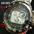 Newest Brand Design Solar Powered LED Digital Quartz Wristwatches Men 30M Waterproof Fashion Sports Military Dress