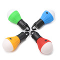 New Arrival 4 Colors Mini Hanging Lamp 3 LEDs 3 Modes AAA Camping Torch Camp Tent