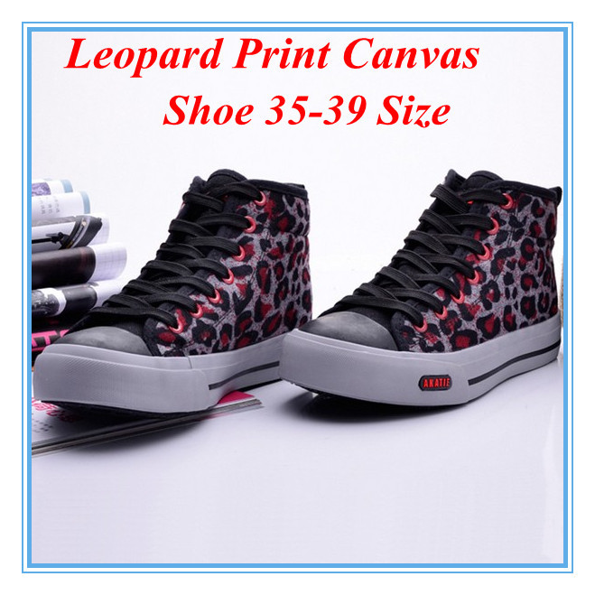 aliexpress buy popular style leopard print high top