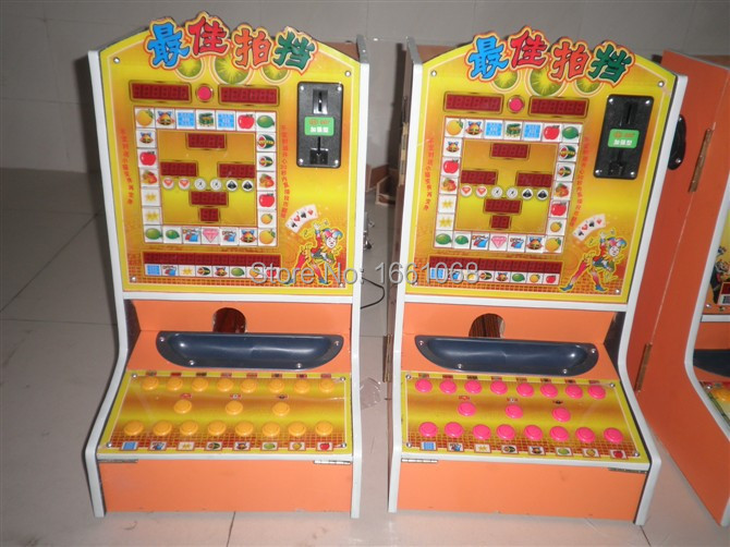 US$290/piece,Coin Operated Portable Amusement Gambling Machines,Mini Arcade Casino Game Machines - Jiufu Animation Technology Co., Ltd store