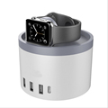 1 Pcs Universal 4 USB Type C Ports for Apple Watch for iPhone 5s 6s 6