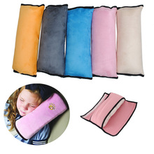 newest Baby Car Auto Safety Seat Belt Harness Shoulder Pad Cover Children Protection Covers Cushion Support Pillow car styling(China (Mainland))