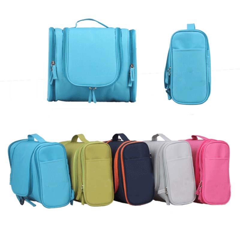 Portable Zipper Hang Design Multifunction Travel Toiletry Bag Waterproof Wash Bag Widely Used for Men Women Organizer Makeup Bag(China (Mainland))
