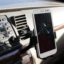 Hot vente ABS mobile mont téléphone support de voiture téléphone mobile support de téléphone de voiture universel support pour i Phone Samsung lg