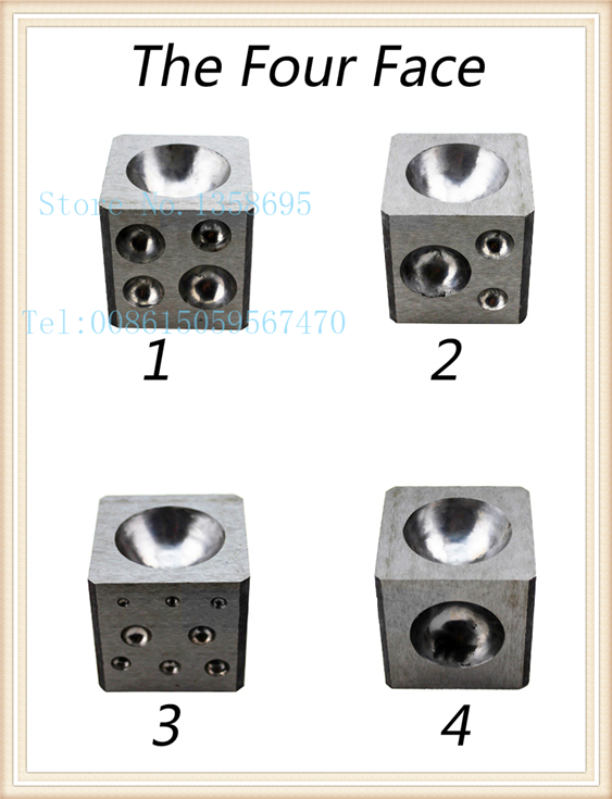 promotion!!! Flat Dapping Block For Jewelry, Flat Dapping plate, jewelry making tools(China (Mainland))