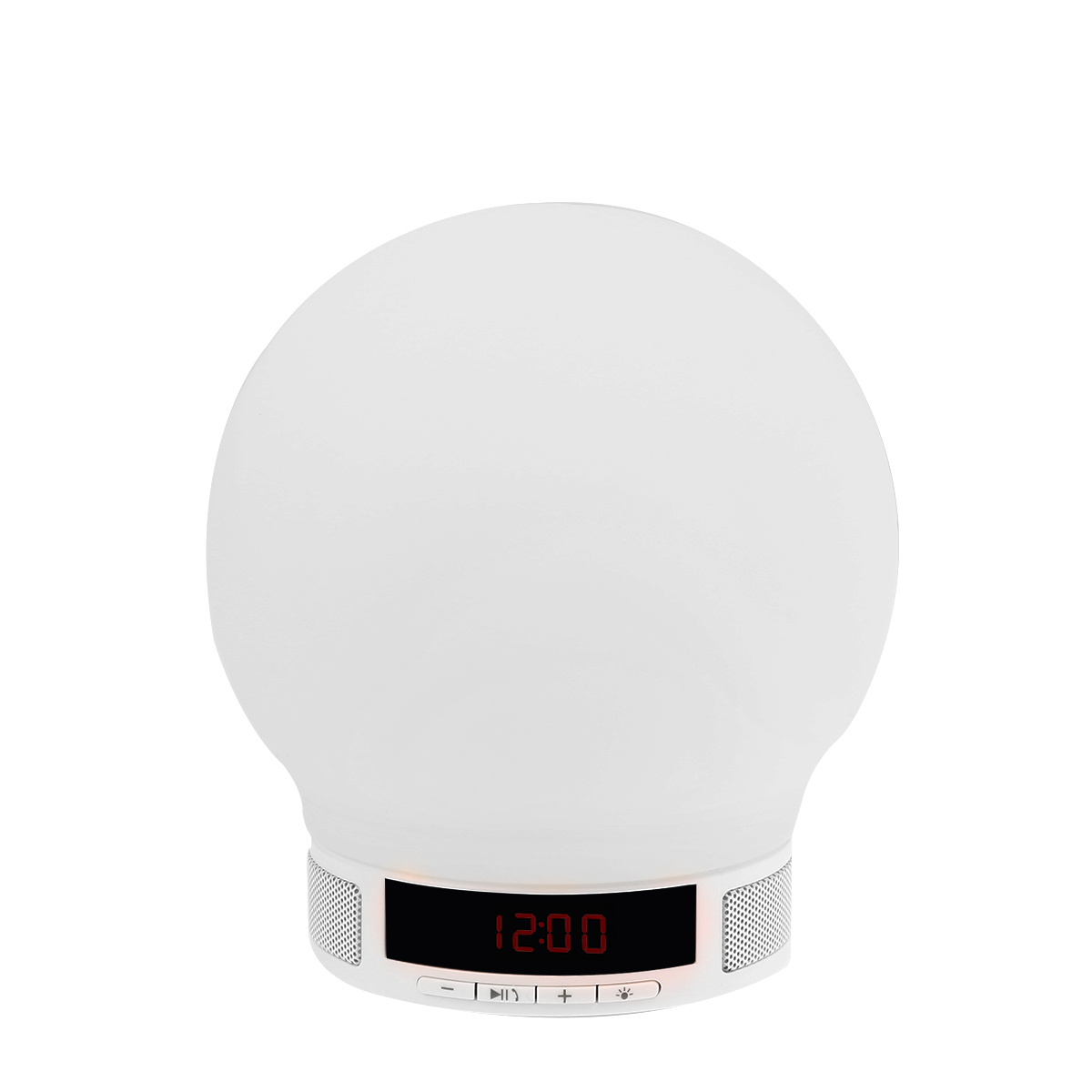 4-Mode LED Night Light Wireless Bluetooth Hands-free Speaker Audio Player with Time /Alarm Clock /TF Card Slot for Cellphone(China (Mainland))