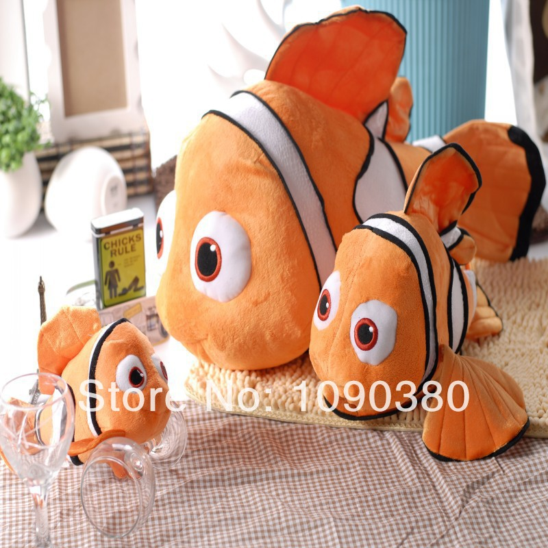 Finding Nemo 40CM Clownfish Stuffed Animals Fish Plush Toys Doll For Children Vivid Cartoon Fish Toy For Sale(China (Mainland))