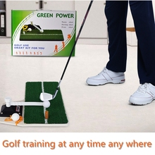 PGM Golf Swing Trainer Golf Mat Residential Training Hitting Pad Rubber Tee Holder Golf Training Aids Putting Green Sets(China (Mainland))