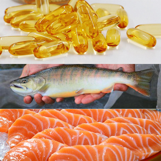 Fish Oil softgels immune adjustament Omega 3