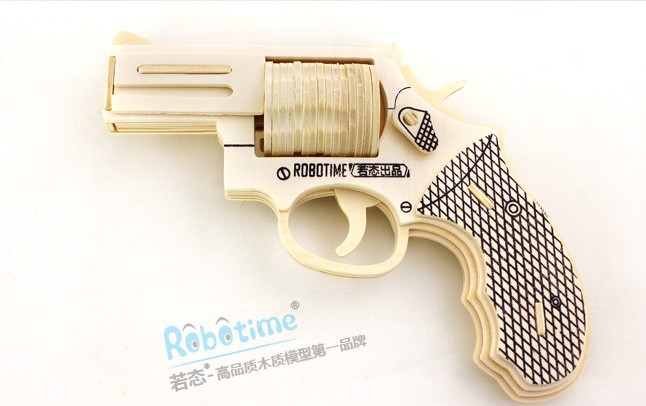 ... toy diy creative gift revolver-in Model Building Kits from Toys