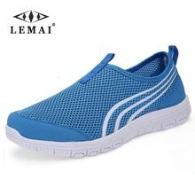 LEMAI 2017 NEW Fashion Men casual shoes, Men's flats Shoes men breathable  lovers Casual Shoes size EUR:35-46, 16Color(China (Mainland))