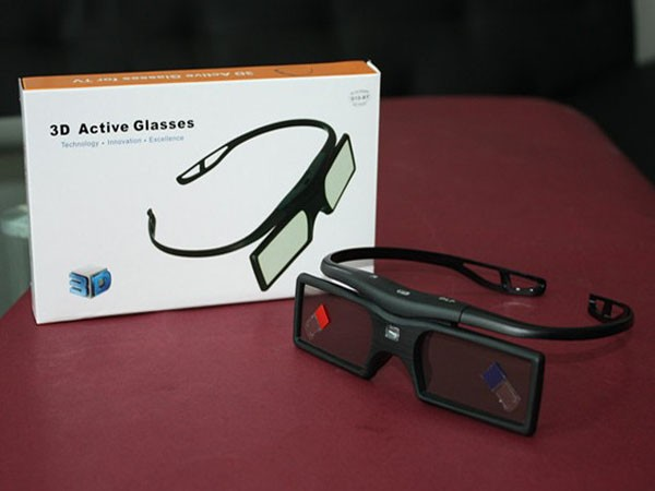 100% original 3d glasses active shutter bluetooth/RF commnication for samsung D E F series 3D TV(China (Mainland))