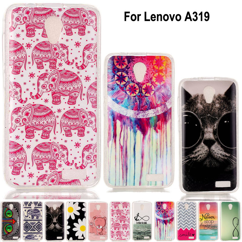Glossy IMD Silicone TPU Soft Cell Phone Case Cover Lenovo A319 Protective Bag Skin - Fashion 3C Digital discount chain store