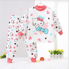 2016 new spring autumn baby girls clothing sets girls cartoon suit clothing children coat clothes T-shirt+pant(China (Mainland))