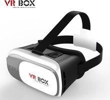 2016 de La Moda CAJA de 2.0 3D Gafas de Realidad Virtual VR VR Auricular Para El Teléfono Móvil Android Smartphone gafas de Vídeo Gafas