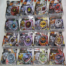 4D hot sale beyblade 16 different style BEYBLADE METAL FUSION FIGHT STARTER BEYBLADE SPIN TOP TOY BEYBLADES MIX ALL MODEL free s(China (Mainland))