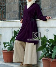 kyle&jane-abaya Muslim Long Sleeve Maxi Dress Middle East djellaba woman Tunic Pakistani Clothing Wholesale &Retail KJ-TOPS10021(China (Mainland))
