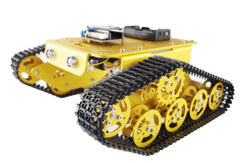 Wireless wifi arduino robot chassis with l d motor