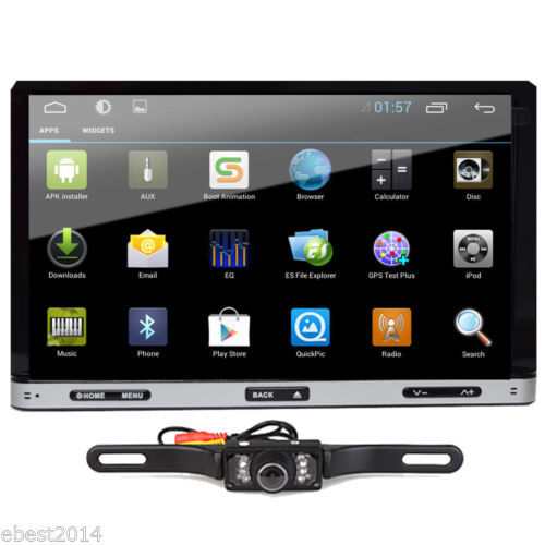 """Android 4.4 7"""" 2Din InDash Car DVD Radio Stereo Player HD capacitive touch screen WiFi 3G Radio Ipod bluetooth GPS+Tablet+CAMERA(China (Mainland))"""