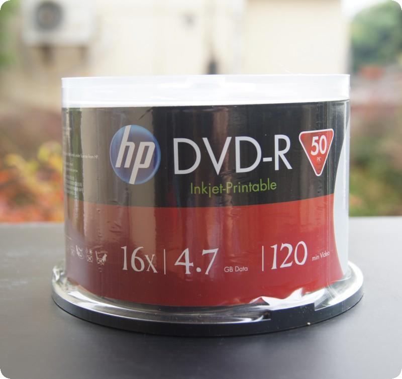 Printable DVD - R 16x 50pcs/lot barrel burn a CD Blank burn CDS 4.7GB(China (Mainland))