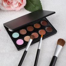 Women 15 Colors Makeup Cosmetic Face Cream Long Lasting Concealer Palette